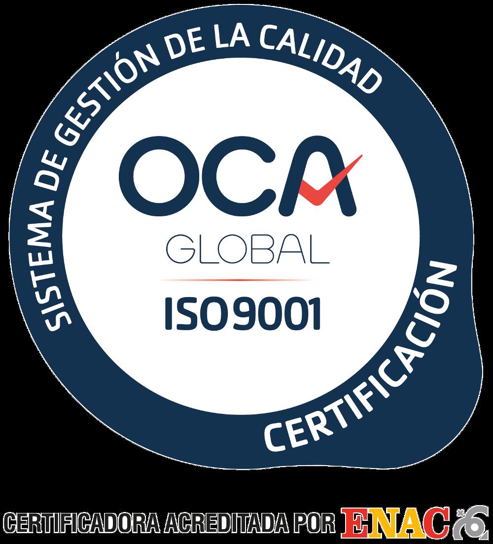 Sello de calidad 9001_ENAC